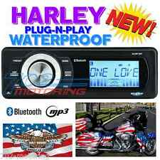 1998-2013 HARLEY DAVIDSON TOURING WATERPROOF BLUETOOTH MP3 AUX RADIO STEREO