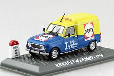 Renault 4 Fourgonnette Lieferwagen Darty 1986 1:43 UH/Hachette