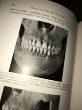 1940 Vintage Textbook Of Dental Anatomy And Physiology Teeth Oddities