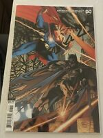 BATMAN / SUPERMAN #7 ANDY KUBERT VARIANT COVER dc comics action detective comics