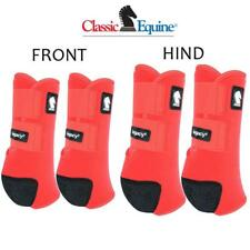 Classic Equine Legacy2 System Red Front Hind Rear Value 4 Pack M Splint Boots