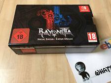 BAYONETTA 2 - European Special Collectors Edition - Nintendo Switch AS NEW Rare