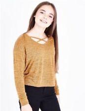 T-shirts, hauts et chemises marrons pour fille de 12 à 13 ans