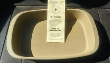 New listing Pampered Chef Family Heritage stoneware 9x13 Baker/Casserole New! #1430