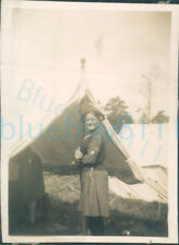 More details for 1938 girl guides photo instructor peggy andrews at camp 3.25*2.25