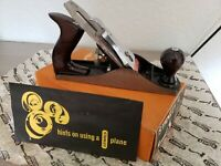 Vintage Stanley Bailey No.4 Type 15 With Original Box and Paperwork Lightly Used