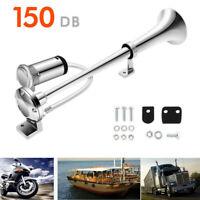 Universal 150DB Single Train Trumpet Car Air Horn Compressor with Super Loud 12V