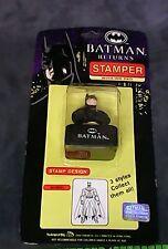 Batman Return Movie Stamper w/ Ink Pad  Batman  1991 DC Comics NEW NOS