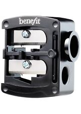 Benefit Cosmetics - Dual Pencil Sharpener - Double Barrel with Highbrow Adapter