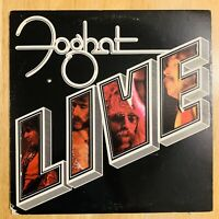Foghat - Live - Vinyl Record LP (1977 Bearsville Records BRK-6971)