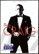 The Daniel Craig Collection 007 DVD + Digital HD 3-Film James Bond BRAND NEW
