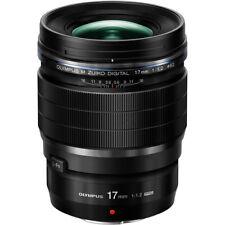 Olympus M.Zuiko Digital ED 17mm 1:1.2 Pro Lens - Black
