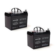 12V 35AH SLA Battery for Hoveround MPV5 MPV4 Wheelchair- 2 Pack