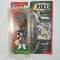 2001 NFL Edition Upper Deck Collectibles Play Makers Marshall Faulk Bobblehead