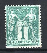 """FRANCE STAMP TIMBRE N° 61 """" TYPE SAGE 1c VERT """" NEUF x TB A VOIR  P686"""