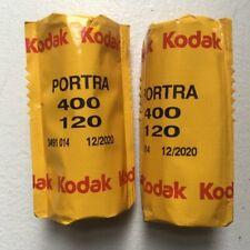 Kodak Portra 400 120 Roll Film Professional X2