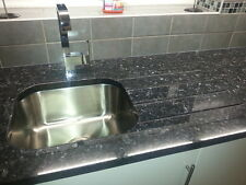 Blue Pearl Granite Worktops 3x Lengths Fully Fitted