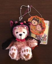 """LIMITED SPECIAL Halloween Carnival 2013 DUFFY Plush 4"""" Strap DUFFY Bat Costume"""