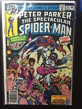 Peter Parker The Spectacular SPIDER-MAN #24 Hypno-Hustler Nov 1978 in VG+