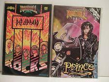 Rock 'N' Roll Comics 2 issue bundle #5 DEF LEPPARD & #21 PRINCE (FREE GIFT/SHIP)