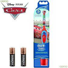 Braun Oral-B Advance Macht Kinder Baterrie Zahnbürste+Zeituhr Disney Cars