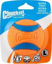 Chuckit Ultra Ball Fetch Toy High Bounce Rubber Tough Dog Tennis Ball Large Size