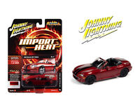 Johnny Lightning 1:64 1999 Burgundy Mazda MX5 Miata Diecast Model Car JLSP111B
