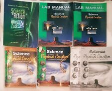 ABeka (9th grade) SCIENCE OF THE PHYSICAL CREATION 7 PIECE SET ~ 2nd Edition