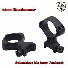 Mittlere Zielfernrohr Montage Ringe 30mm Ø Remmington 4 6 74 700 7400 Mauser M18