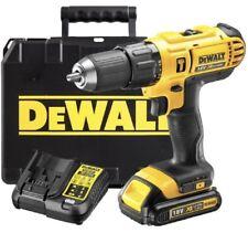 DeWALT 18v Cordless Combi Drill DCD776 1.5Ah Li-ion Battery & Fast Charger