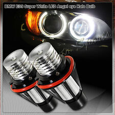 For 2004-2007 BMW E60 5-Series Ultra Bright White LED 6W Angel Eye Halo Bulbs