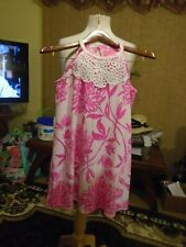 LILLY PULITIZER PINK DESIGNER (child) DRESS   12