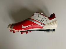 Rio Ferdinand signed football boot / Manchester United / England / COA