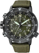 Citizen Promaster Altichron Stainless Steel. Altimeter, Compass BN4045-12X.