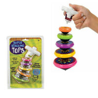 1 Stacking tops watch them spin occupational therapy toy autism kids
