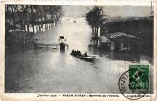 CPA PARIS INONDE Porte dIvry. Barriere de l'Octroi (562174)
