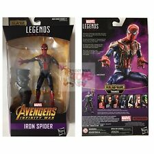 "IRON SPIDER-MAN + BAF Piece AVENGERS Marvel Legends 2018 6"" inch ACTION FIGURE"