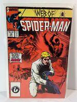 Marvel Comics Web of Spider-Man Sep. 1987 Vol.1 #30 GD+ Conditions