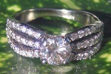 Gorgeous 14kt White Gold Diamond Ring