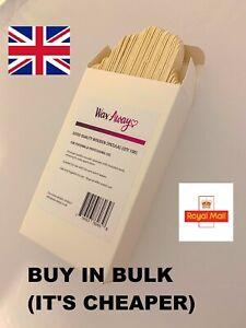 **FREEPOST** QUALITY WOODEN WAXING SPATULAS  - Buy in bulk (It's Cheaper)