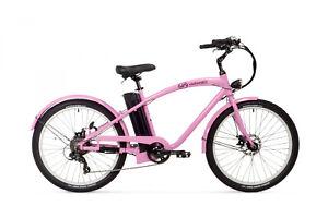 Varaneo E Bike Beachcruiser 250W 25 km/h 374 Wh Pink Pedelec Aluminium Rahmen