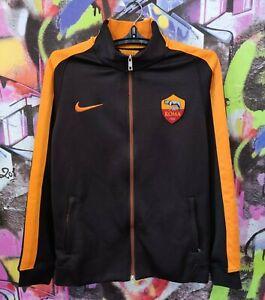 AS Roma Italy Italia Football Soccer Longsleeve Jacket Top Nike Mens size M