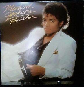 MICHAEL JACKSON Thriller Gatefold Album Released 1982 Vinyl Collection USA