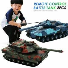 RC Tank Battle Crawler Car Remote Radio Control Panzer Armored Vehicle Children
