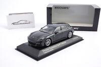 #410066112 Minichamps Porsche Panamera 4E-Hybrid Sport Turismo Grau 2017 - 1:43