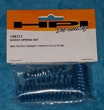 HPI Racing 108311 Blue Shock Spring Set (6pcs) for Mini Trophy Desert Trophy DB