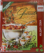 "PUZZLE - JIGSAW NYPC ""HOLIDAY CIDER"" CHRISTMAS MUSIC - 1000 PIECE - NEW IN BOX!"