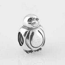 PENGUIN, .925 Sterling Silver European Charm Bead