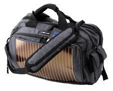 NEW ECO TRAVELER BACKPACK SOLAR PANEL BATTERY CHARGER LAPTOP BAG GRAY ETO135K