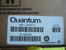 Box of 5 New Genuine OEM Quantum MR-L1MQN-01 Data Cartridges Tapes Ultrium 1